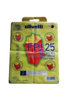 Olivetti FPJ25 Siyah Kartuş 82070