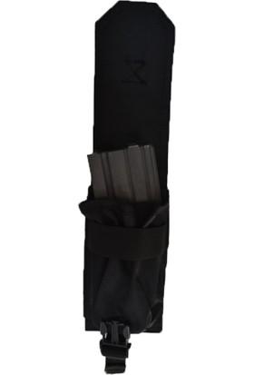 Ktm Tekli Kapaklı Şarjör Cebi Siyah Rengi