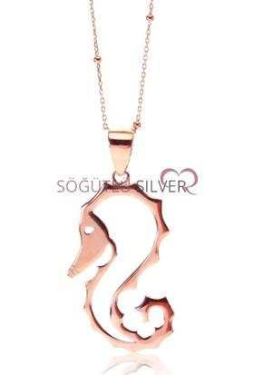 Söğütlü Silver ENT-SGTL7582 Deniz Atı Kolye