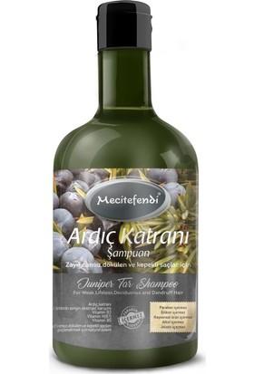 Mecitefendi Ardıç Katranı (Katranlı) Bitkisel Şampuan 400 ml
