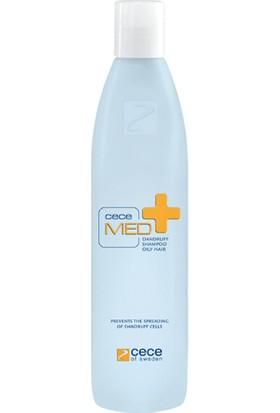 Cece Med Dandruff Oily Hair Shampoo Yağlı Saç Için Kepek Önleyici Şampuan 300 ml