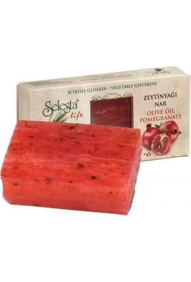 Selesta Life Zeytinyağı&nar Katı Bitkisel Sabun 100gr