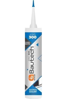 Bautech Silikonize Akrilik Mastik 500 g Beyaz