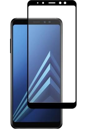 Cepaksesuarcim Samsung Galaxy A8 2018 Tam Kaplayan 5D Ekran Koruyucu Cam