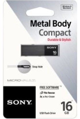 Sony 16 GB Metal Body Compact Flash Bellek USM16WB