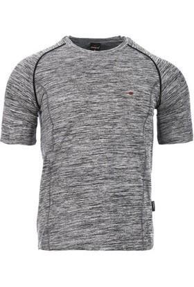 Cresta Katyonik Kir Basic Erkek Günlük T-Shirt 2028-Ktybıs-Kır
