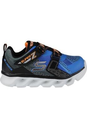 Skechers Hypno-Flash Mavi Siyah Işıklı Çocuk Ayakkabısı