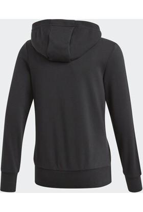 Adidas 3S Fz Hd Siyah Çocuk Günlük Sweatshirt Bp8622
