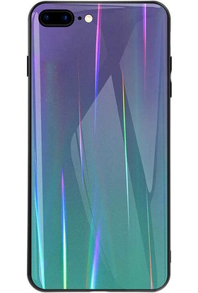 Zore Apple iPhone 8 Plus Friz Cam Kapak