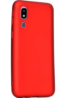 Gpack Samsung Galaxy A2 Core Kılıf Premier Silikon Esnek+Nano Glass