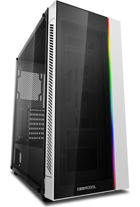 Deep Cool Matrexx 55 ADD-RGB E-ATX / ATX / Mikro ATX / Mini-ITX Beyaz Bilgisayar Kasası