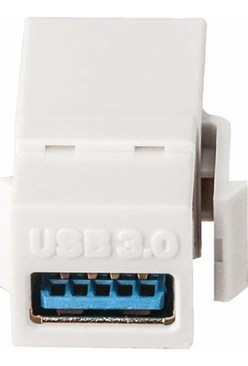 Excel USB Keystone Jack Type A Female To Female