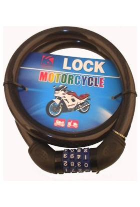 CSI 4 Haneli Şifreli Motor ve Bisiklet Kilidi 1 Metre 50119