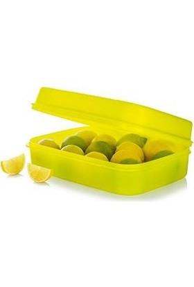 Tupperware Saklama ve Taşıma Kabı Neon Sarı