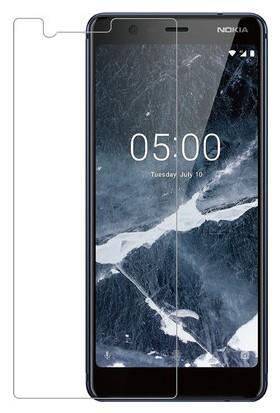 Case 4U Nokia 5.1 Temperli Cam Ekran Koruyucu