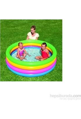 Bestway Renkli 4 Halkalı Şişme Havuz BW51117 157Çap 46cm