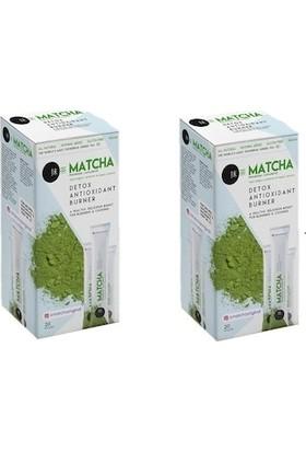 Matcha Maça Hologramlı Japon Çayı 2 Adet