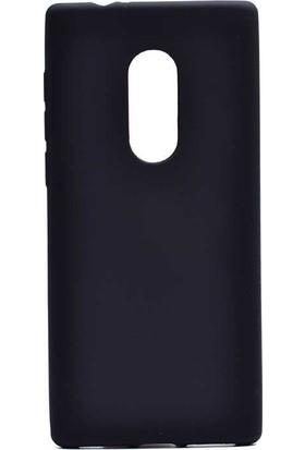 Tbkcase Alcatel 5 Lüks Silikon Kılıf Siyah