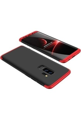 Tbkcase Samsung Galaxy J8 360 Koruma Sert Kapak Kılıf Karışık Renk + Nano Ekran Koruyucu