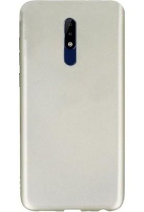 Tbkcase Nokia 5.1 Lüks Silikon Kılıf Gold