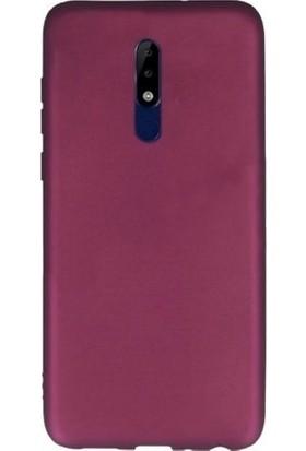 Tbkcase Nokia 5.1 Plus Lüks Silikon Kılıf Bodro