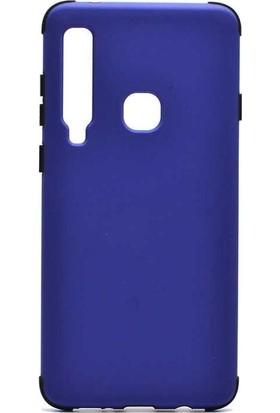 Tbkcase Samsung Galaxy A9 2018 Soft Darbe Korumalı Renkli Silikon Kılıf Lacivert