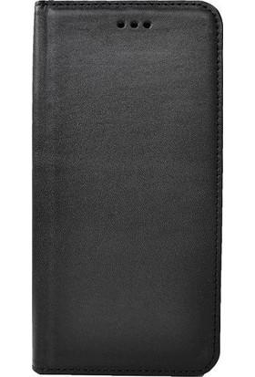 Tbkcase Samsung Galaxy S8 Plus Deri Standlı Cüzdanlı Kılıf Siyah