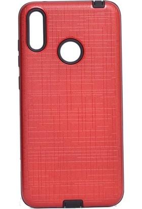 Tbkcase Samsung Galaxy A30 Youyou Silikon Kılıf Kırmızı + Nano Ekran Koruyucu