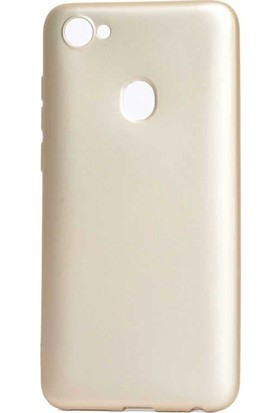 Tbkcase Casper Via G3 Lüks Silikon Kılıf Gold + Nano Ekran Koruyucu