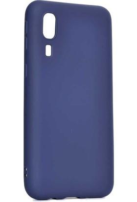 Tbkcase Samsung Galaxy A2 Core Lüks Silikon Kılıf Lacivert