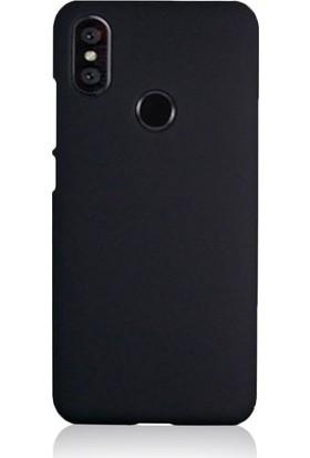 Tbkcase Samsung Galaxy A40 Soft Touch Silikon Kılıf Siyah
