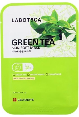 Labotica Skin Soft Mask Green Tea