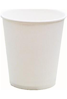 Aticup Beyaz Karton Bardak 6,5 Oz 500 Adet Akıtmaz Ati̇cup