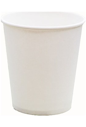 Aticup Beyaz Karton Bardak 6,5 Oz 1000 Adet- Akıtmaz Ati̇cup