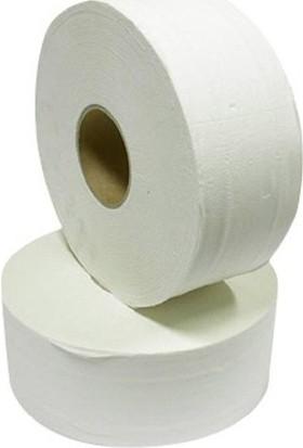 Sosi Mini Jumbo Tuvalet Kağıdı Beyaz 2 Katlı 100 Mt. 12 Rulo