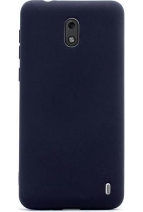 Ehr. Nokia 2 Priming Mat Silikon Arka Kapak Kılıf Siyah