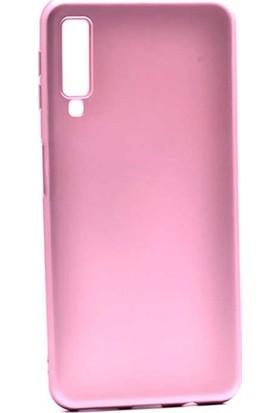 Ehr. Samsung Galaxy A2 Core Priming Mat Silikon Arka Kapak Kılıf Rose Gold