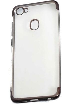 Ehr. Casper Via G3 Lüks Lazer Kaplama Soft TPU Kılıf Siyah + Nano Ekran Koruyucu