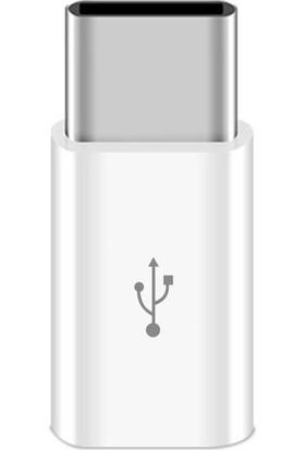 Hdr 2.1 Amper Micro USB To Type-C Dönüştürücü Otg Çevirici Adaptör