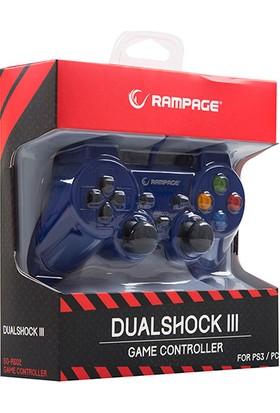 Snopy Rampage SG-R602 Ps3/pc Mavi USB 1.8m Joypad