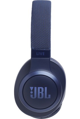 JBL LIVE500BT Mikrofonlu Kulaküstü Kablosuz Mavi Kulaklık