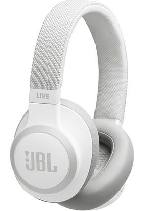 JBL LIVE650BTNC Mikrofonlu Aktif Gürültü Önleyici Kulaküstü Beyaz Kulaklık