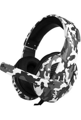 Kubite T-173 Siyah/Beyaz Renkli Mikrofonlu Oyuncu Kulaklığı