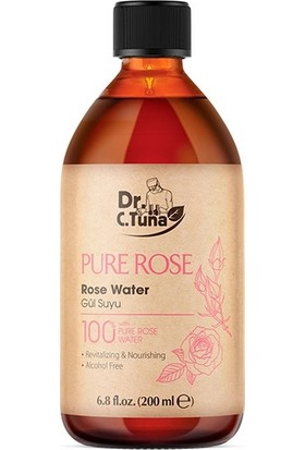 Dr.c.tuna Pure Rose Gül Suyu 200ML