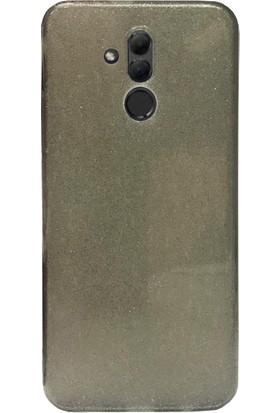 Aktif Aksesuar Huawei Mate 20 Lite Simli Parlak Kılıf Aktif Aksesuar