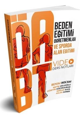 Benim Hocam Yayınları 2019 ÖABT Beden Eğitimi Öğretmenliği Ve Sporda Alan Eğitimi Video Ders Notlar - Metin Usluoğlu