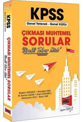 Yargı Yayınevi KPSS Genel Yetenek Genel Kültür Çıkması Muhtemel Sorular - Rüstem Kızıldağ