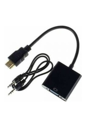 Wi̇nkel W-HD26 HDMI To VGA Çevi̇ri̇ci̇