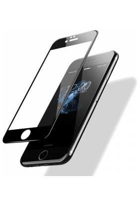 Twinix Apple iPhone 6s 5D Ekran Koruyucu Cam 4 Katmanlı Siyah