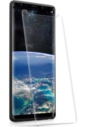 Twinix Samsung Galaxy S9 Plus Uv Işınlı Ekran Koruyucu Tam Yapışan Cam